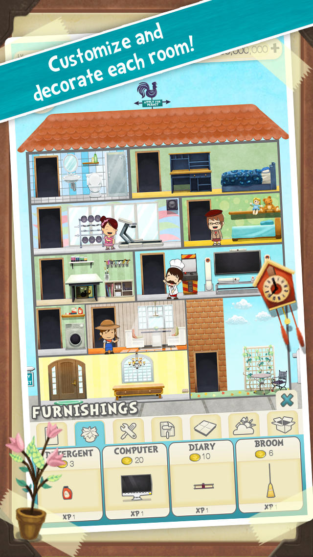 Pocket Family - My Dream House screenshot 2
