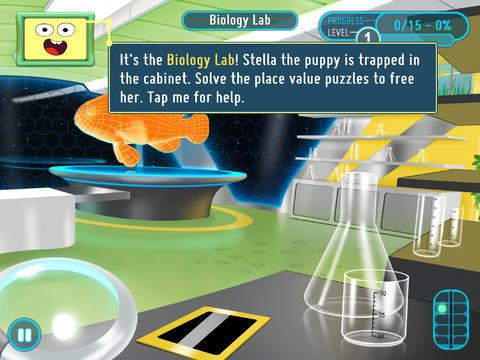 SMART Adventures Mission Math 1: Sabotage at the Space Station screenshot 3