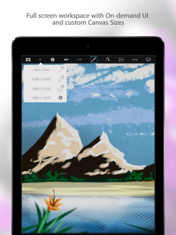 SketchBook Pro for iPad screenshot 3