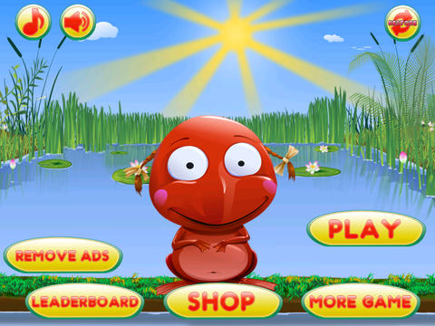 Go Frog Go - Jack the Tiny Red Jumpy Frog vs. Hoppy Insects screenshot 4