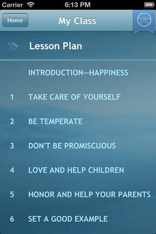 The Way to Happiness Education - náhled