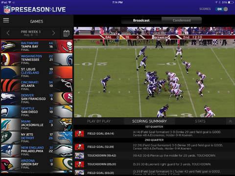 NFL Preseason Live screenshot 2