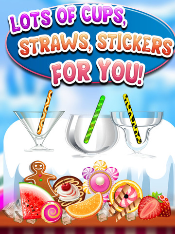 """ A AmazeBalls Candy Froyo Maker PRO – Customer Frozen Yogurt Creator screenshot 8"