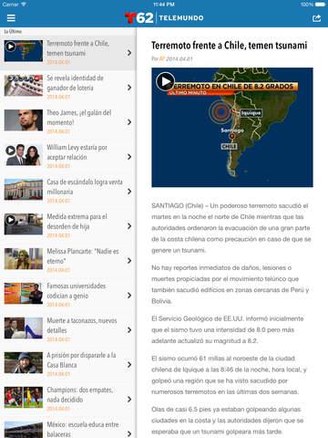 Telemundo62 screenshot 8