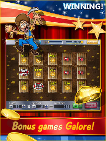 Triple 7's Slots – Free Slot Machines with Authentic Las Vegas Casino Rules screenshot 4