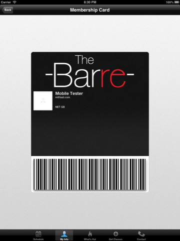 The Barre screenshot #3