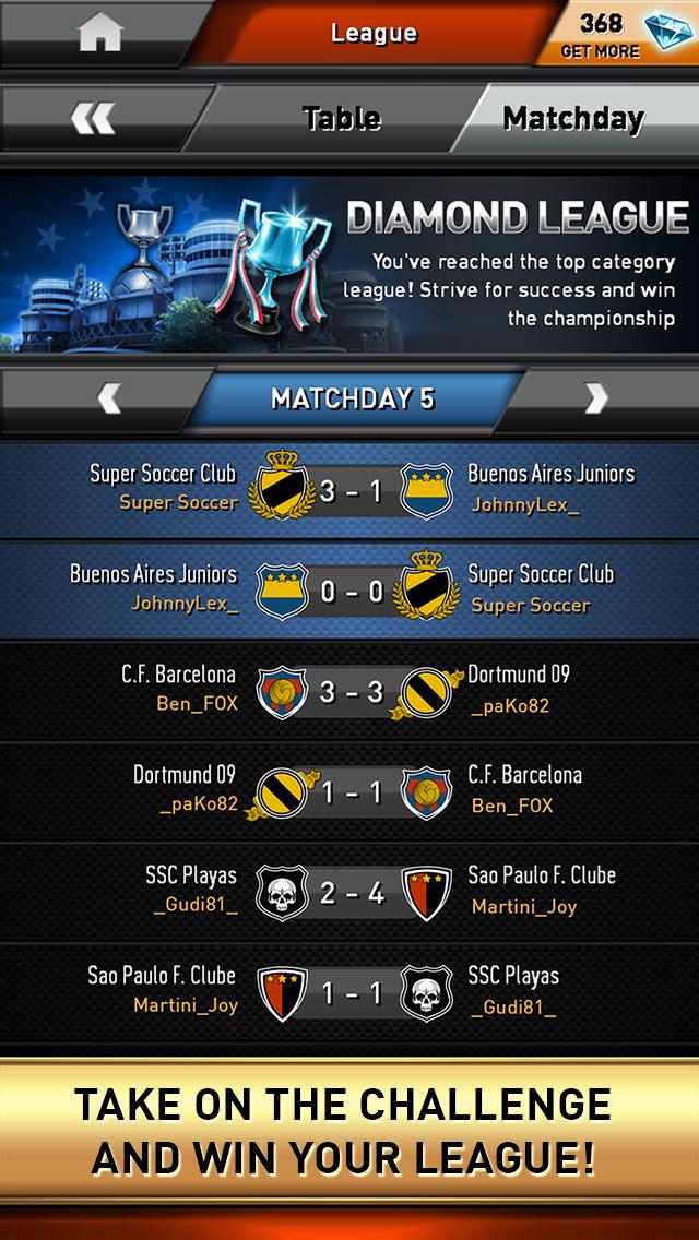 Super Soccer Club: Football Rivals screenshot 4