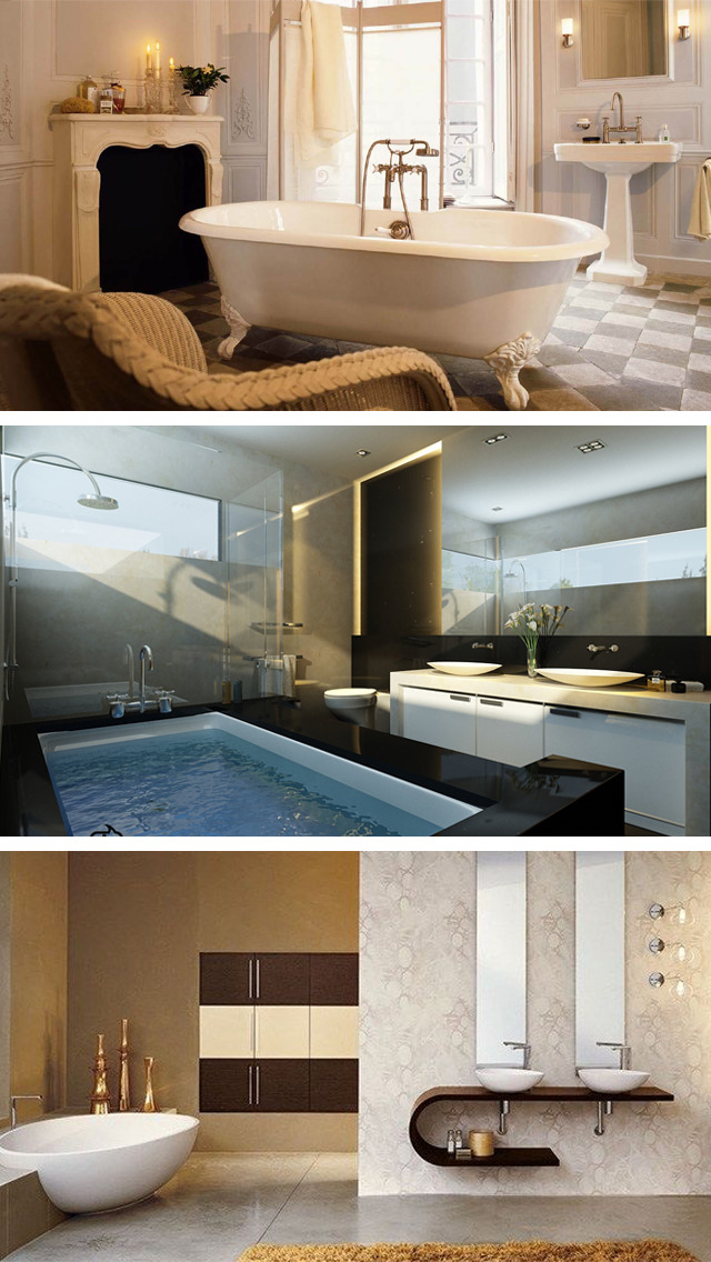 Bathroom Designs Catalog - Interior decor Ideas screenshot 3