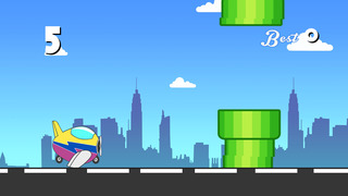 Air Plane Highway Racing Pro - super speed flight race screenshot 2