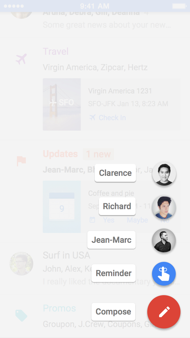 Inbox by Gmail screenshot 3