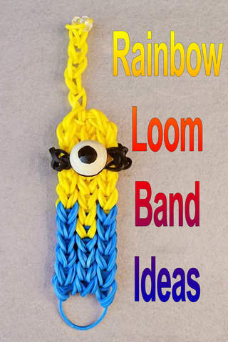Rainbow Loom Band Ideas - náhled