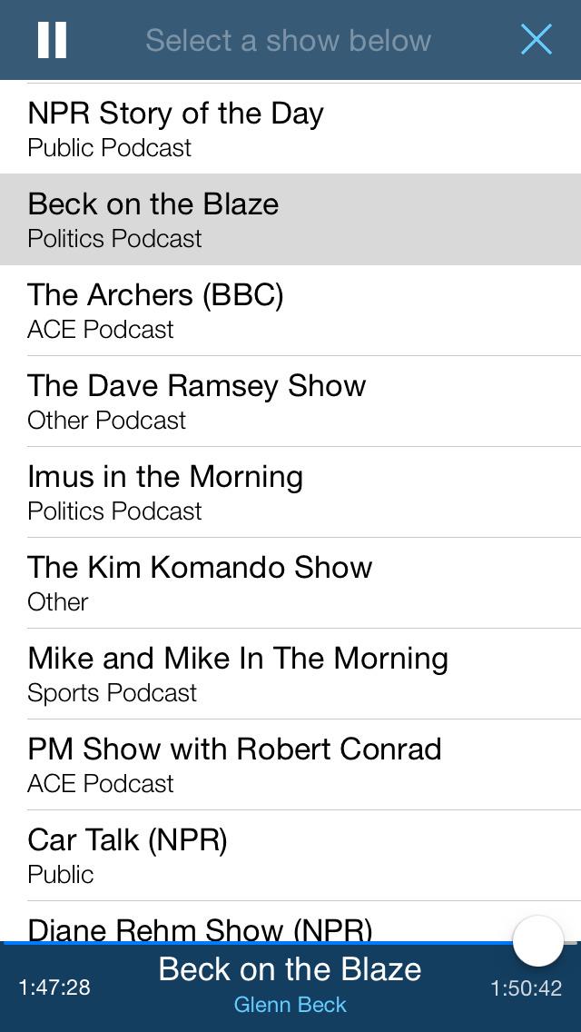 The Report: Conservative News & Talk Radio screenshot 3