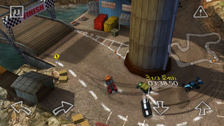 Reckless Racing HD screenshot #3