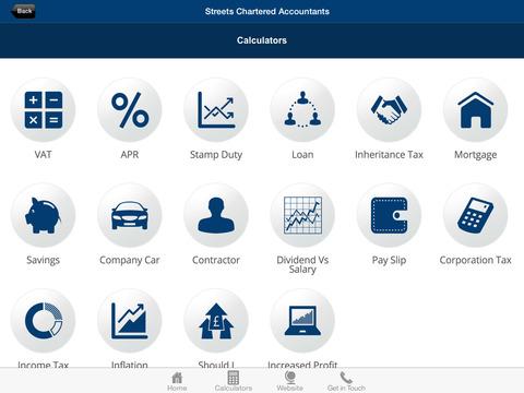 Streets Chartered Accountants screenshot #3