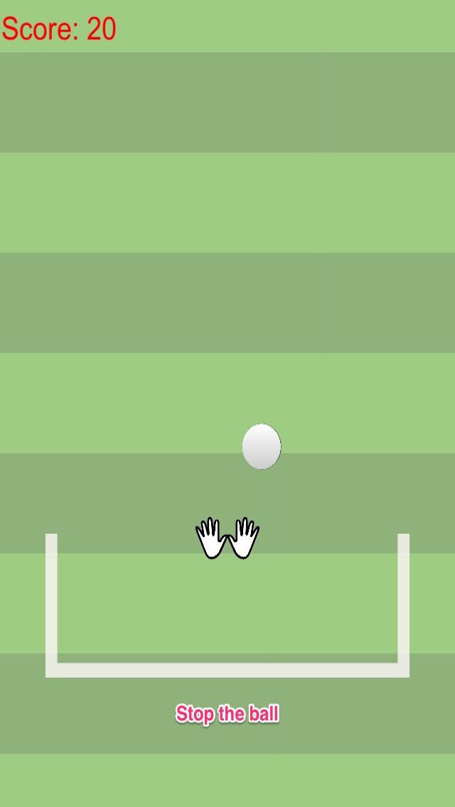 Agility goalkeeper vs fast moving football free screenshot 2