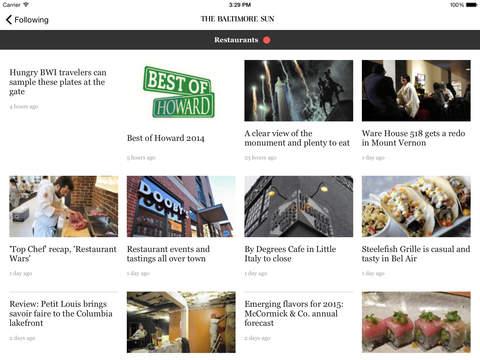 The Baltimore Sun screenshot 8