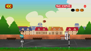 Free Basketball Game Flick It Free Throw Basketball Tricks screenshot 2