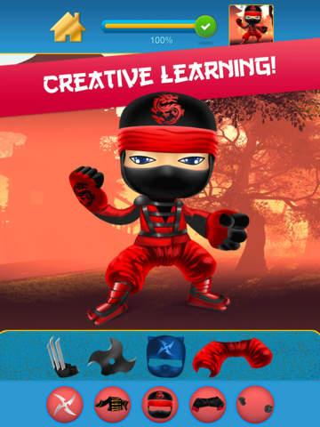 My Mega Power Ninja Hero Design & Copy Crazy Game - Pro screenshot 8