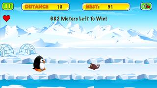 Penguin Club Racing Challenge screenshot 1