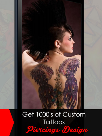 MyTattoo - The Tattoo Designs Salon App & Virtual Photo Booth Machine to Tattooed yourself with Dragon Tribal Tattoos without Pain for free! screenshot 6