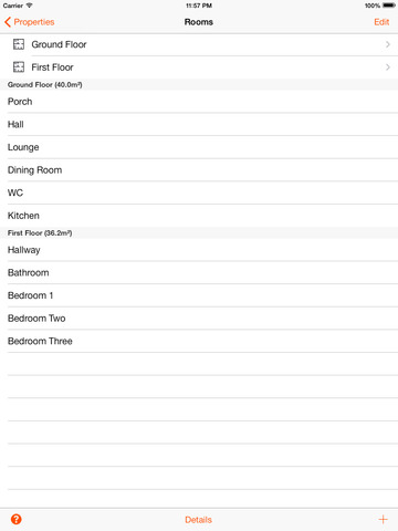RoomScan Pro – floor plan app screenshot 9