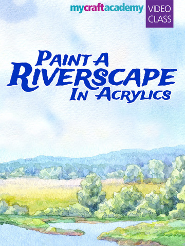 Paint a Riverscape in Acrylics screenshot 6
