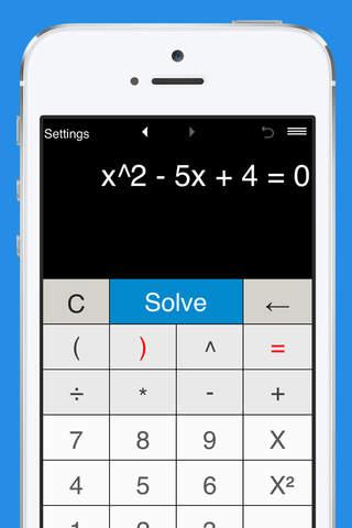 Quadratic Equation Solver with Steps - náhled