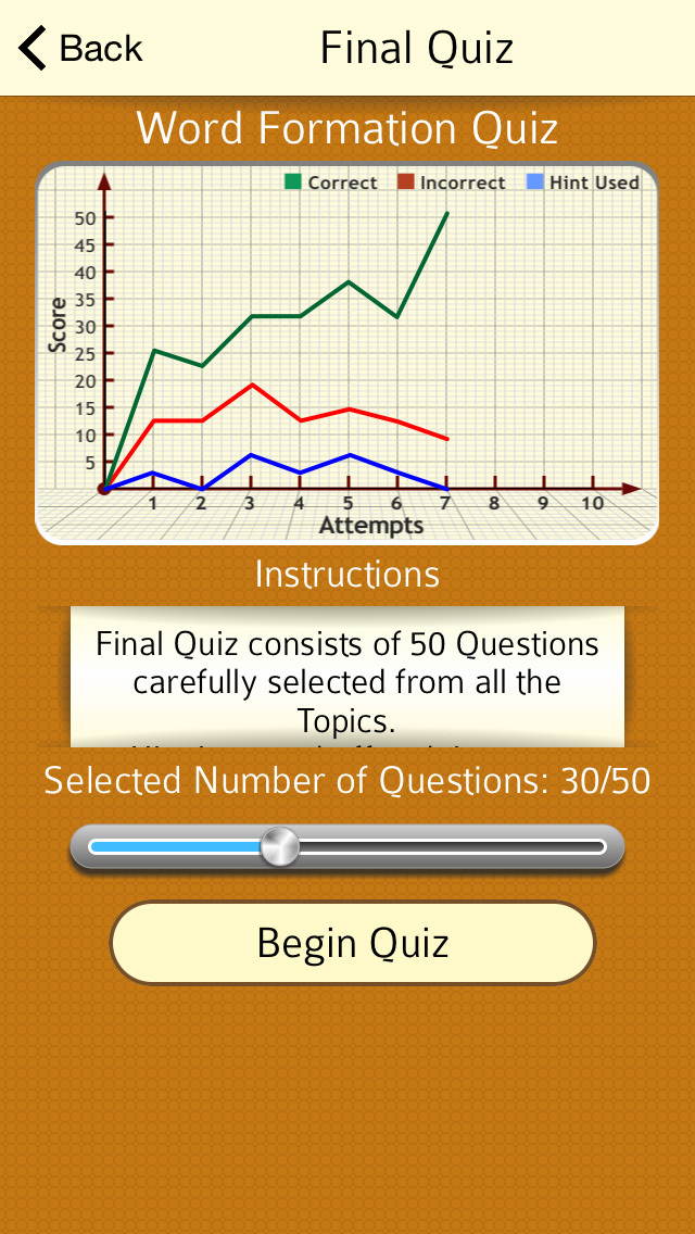 English Certified : CAE Vocabulary - Word Formation screenshot 3