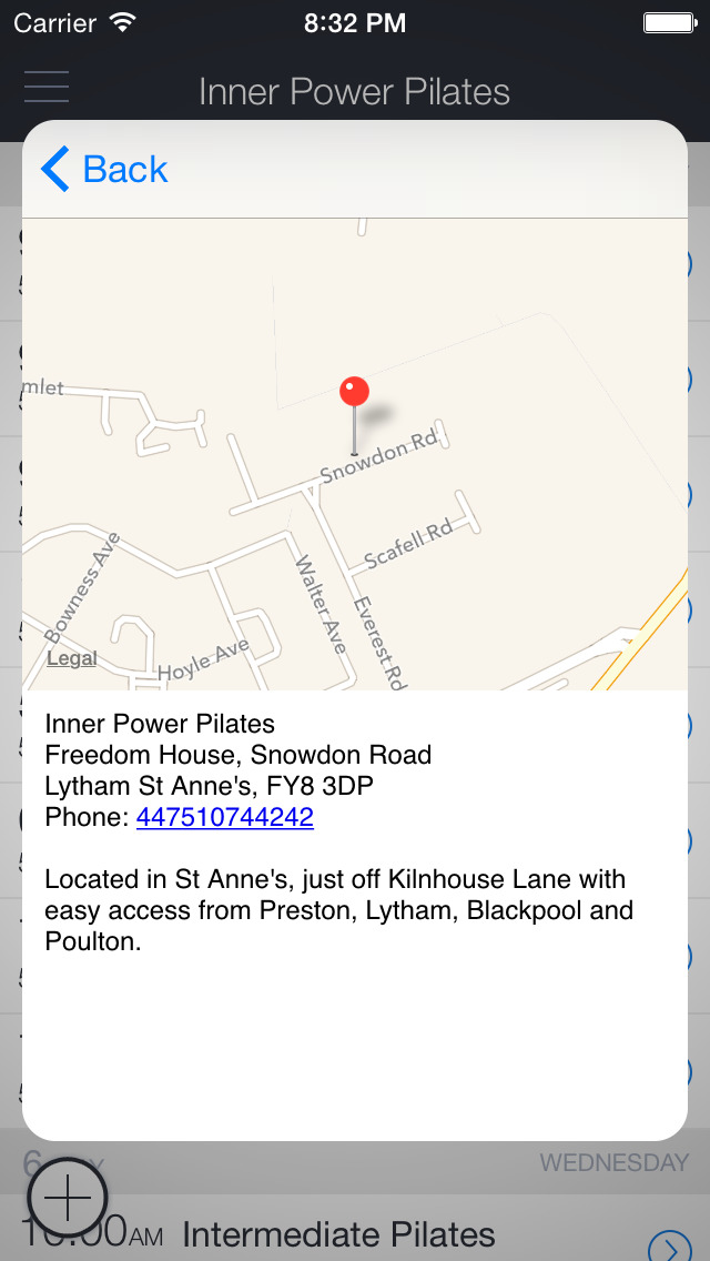 Inner Power Pilates - UK screenshot 3