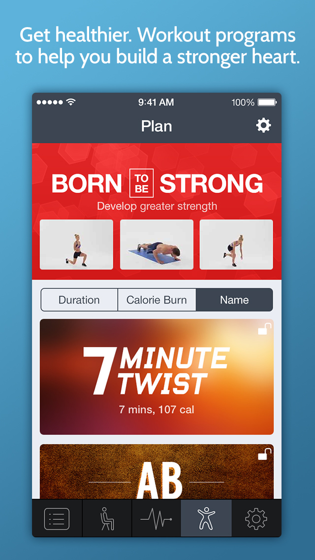 Instant Heart Rate Plus - Heart Rate Monitor by Azumio with workout training programs from Fitness Buddy screenshot 5