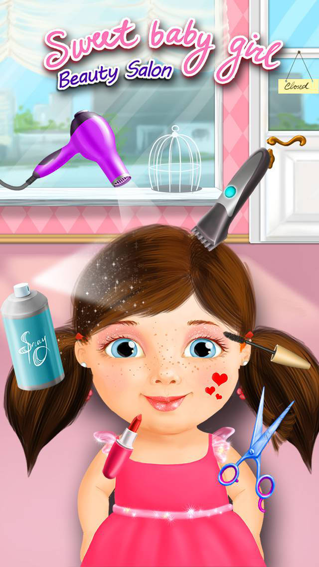 Sweet Baby Girl Beauty Salon - Manicure and Makeup screenshot 1