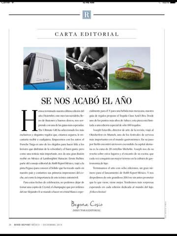Robb Report México screenshot 7