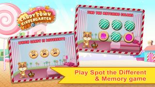 Candy Town Kindergarten - Kids educational app screenshot 2