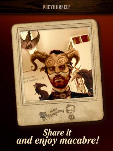 Poe Yourself - Take a photo and enjoy macabre! screenshot 8