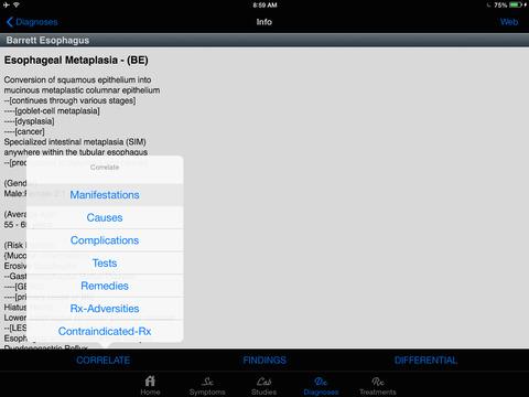 STATworkUP® DDx Clinical Guide screenshot 7