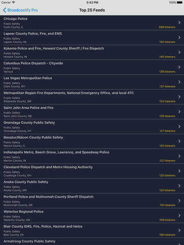 Broadcastify Pro screenshot 6