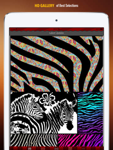 Zebra Print Wallpapers HD: Quotes Backgrounds Creator with Best Designs and Patterns screenshot 6