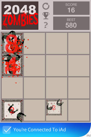 2048 Zombies - náhled