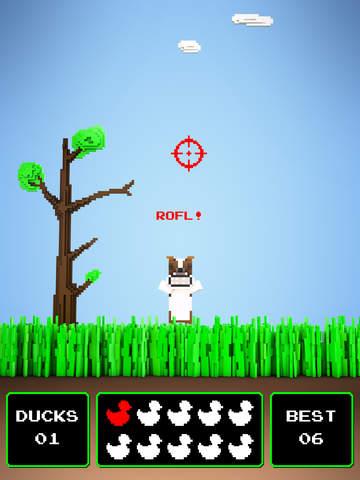 Quacky Hunt ~ it's duck kill season in this hunting sniper shot classic! screenshot 7