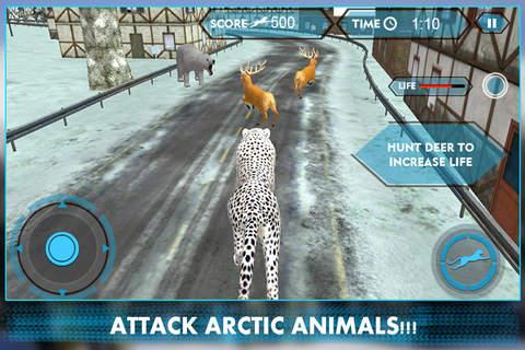 Wild Snow Leopard Simulator 3D - náhled
