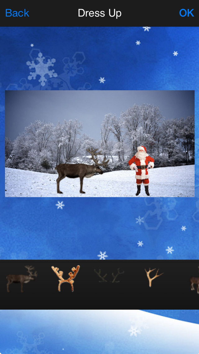 Santa's Reindeer Camera screenshot 4
