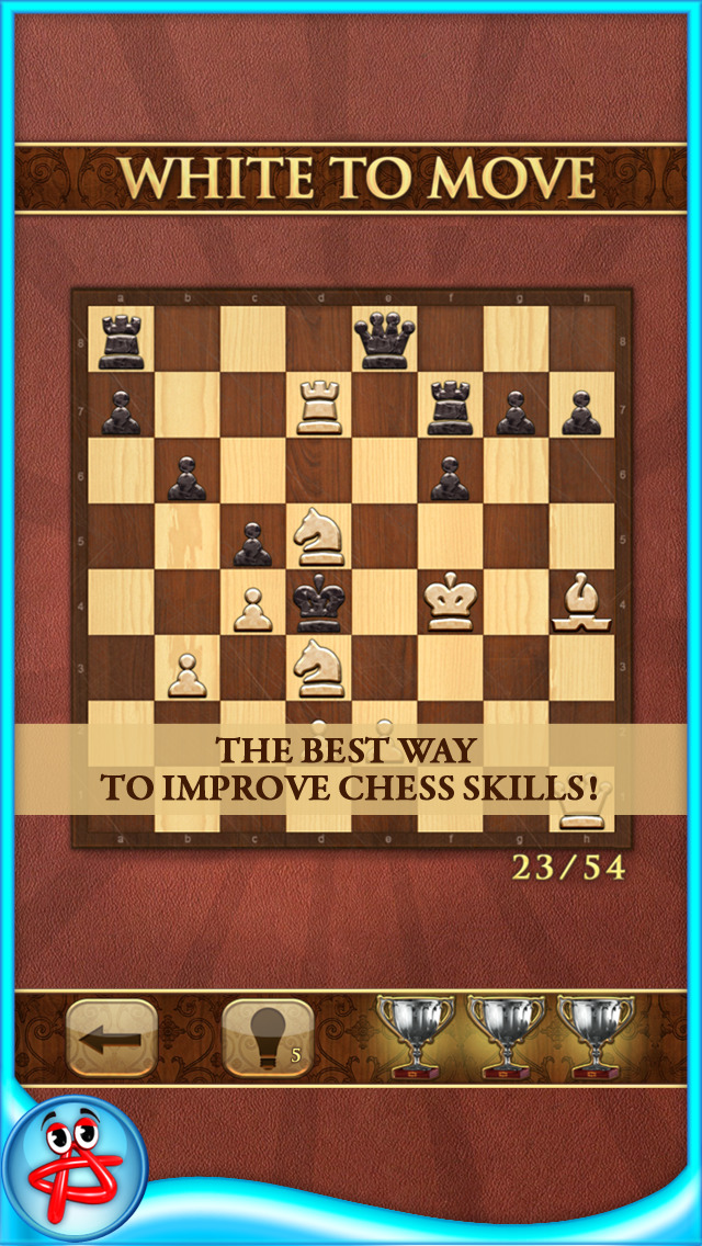 Mate in One Move: Chess Puzzle screenshot 1