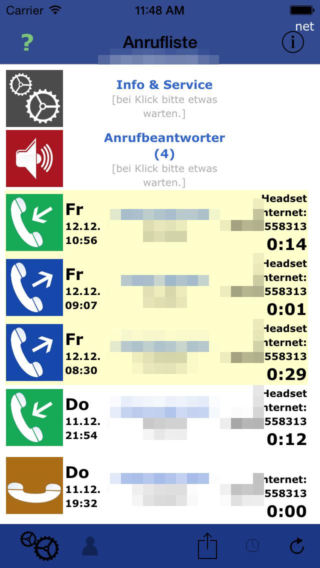 Call List Pro screenshot 2