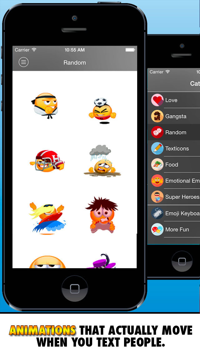 New Emoticon Keyboard - Extra Emojis for iOS 8 screenshot 2