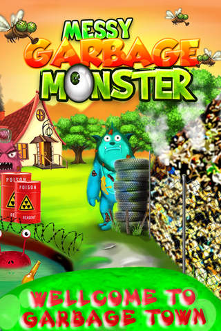 Messy Garbage Monster – Makeover & Dress up Monste - náhled