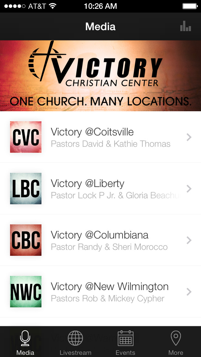 Victory Christian Center Ohio screenshot 1