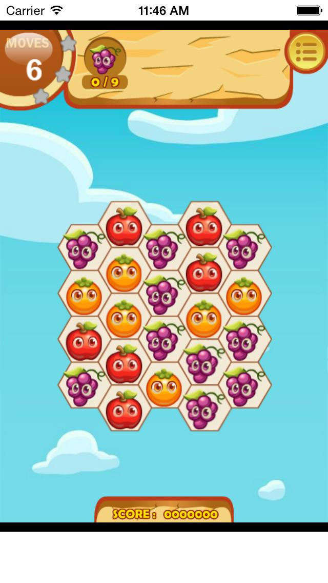 Fruita Swipe Free Game screenshot 2