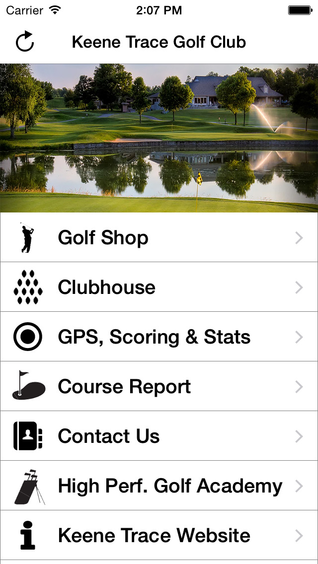 Keene Trace Golf Club screenshot 2