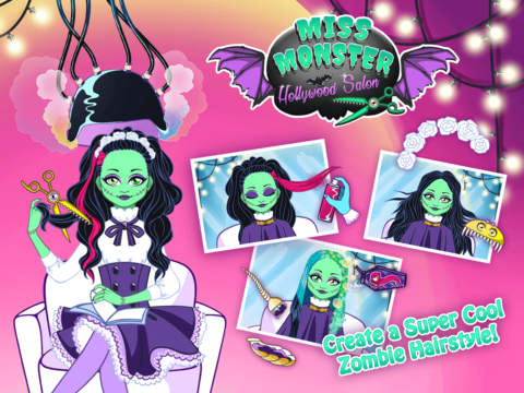 Miss Monster Hollywood Salon – Cute & Scary Celebrity Style Makeover screenshot 6