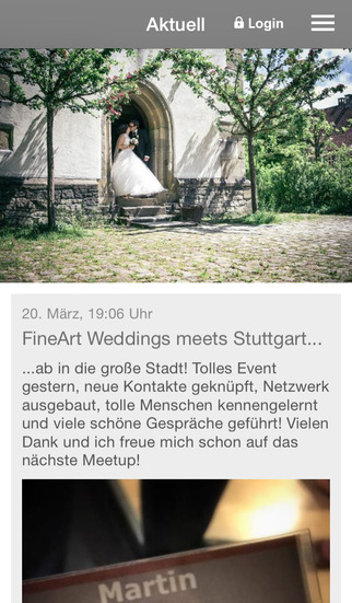 FineArtWeddings screenshot 1